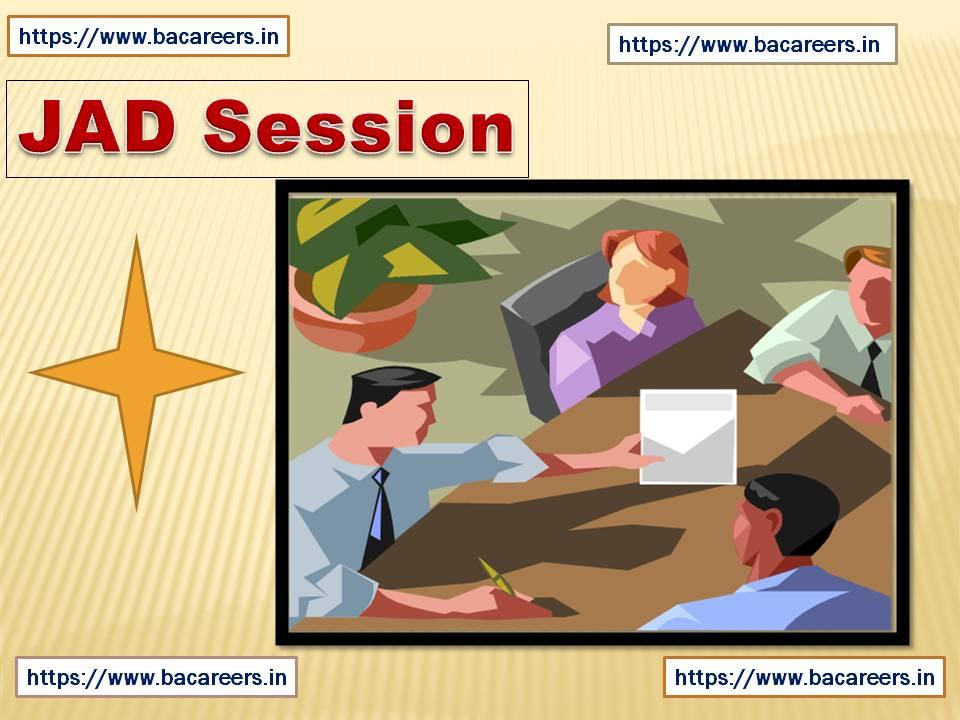 JAD Session