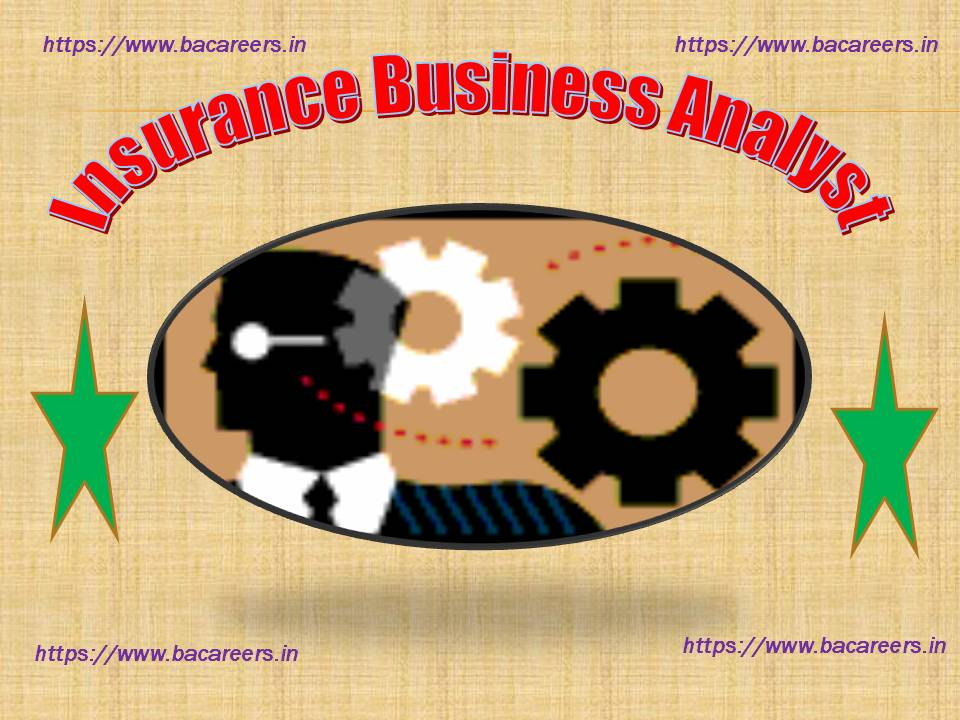 Insurance Business Analyst