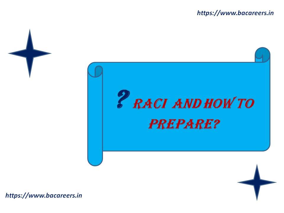 What is RACI Matrix