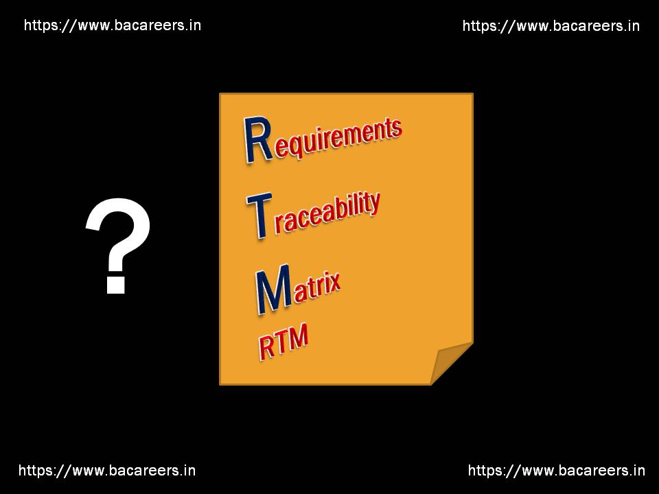 What is Requirements Traceability Matrix