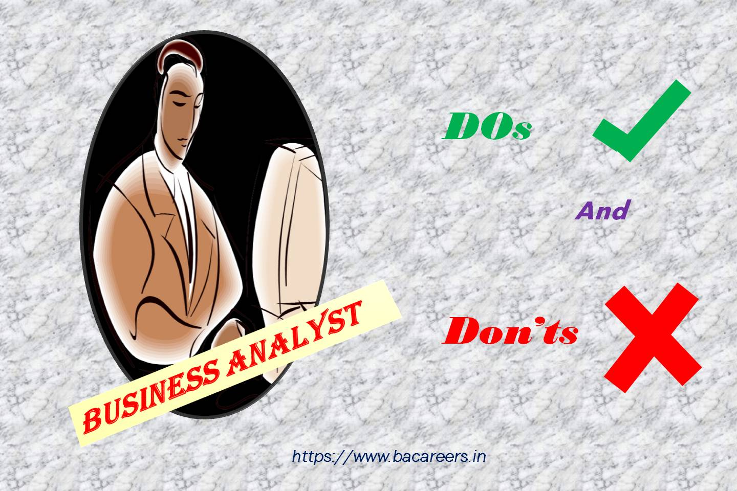 Dos and Don'ts for Business Analyst.