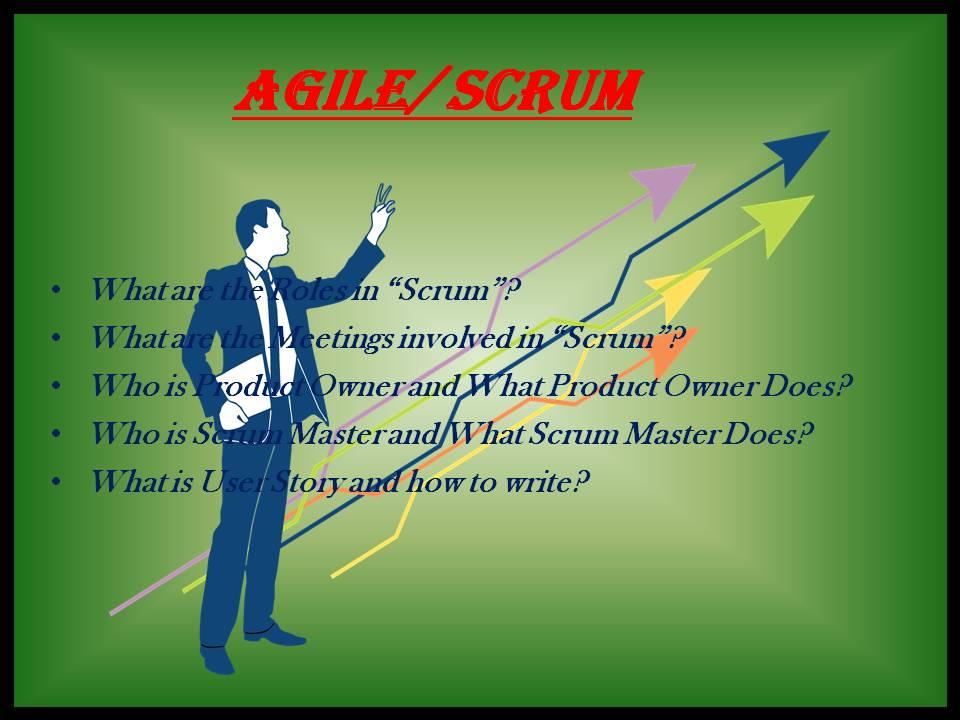 AGILE / SCRUM
